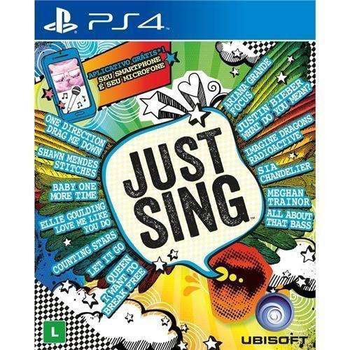 Jogo Just Sing - PS4