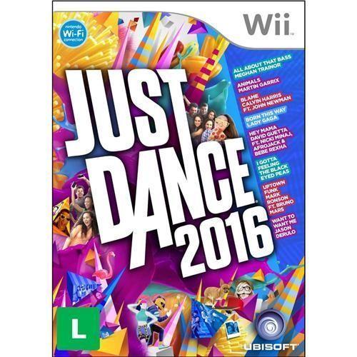 Jogo Just Dance 2016 - Nintendo Wii