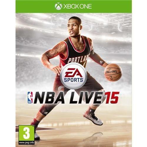 Jogo NBA Live 15 - Xbox One