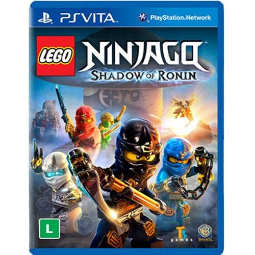 Jogo Lego Ninjago: Shadow of Ronin - PS Vita