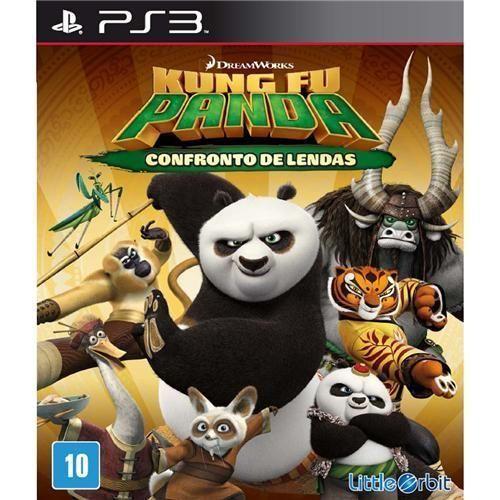 Jogo Kung Fu Panda: Confronto de Lendas - PS3
