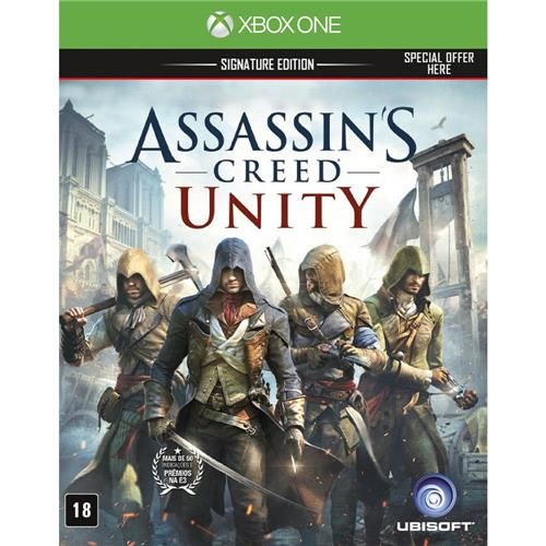 Jogo Assassin's Creed Unity Signature Edition - Xbox One