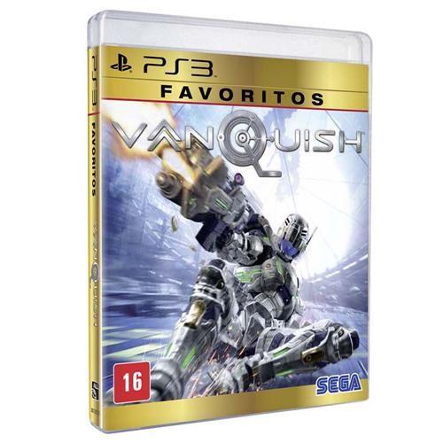 Jogo Vanquish Favoritos - PS3