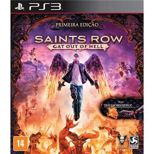 Jogo Saints Row: Gat Out Of Hell - Primeira Edição - PS3