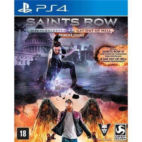 Jogo Saints Row IV Re-Elected + Gat Out Of Hell - Primeira Edição - PS4