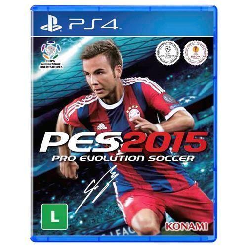 Jogo PES 2015 - PS4