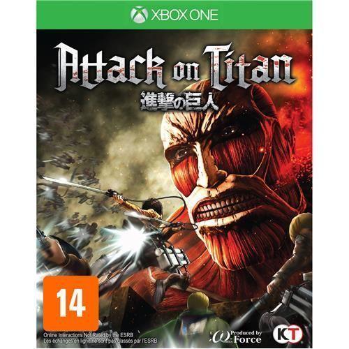 Jogo Attack on Titan - Xbox One