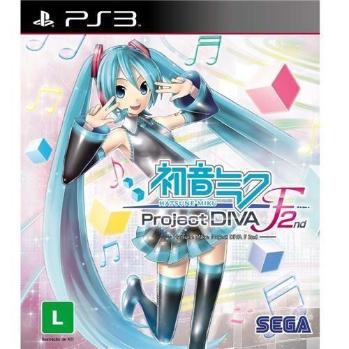 Jogo Hatsune Miku Project Diva F - PS3
