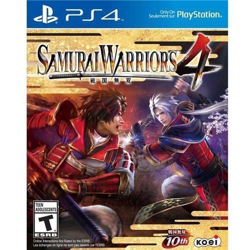 Jogo Samurai Warriors 4 - PS4