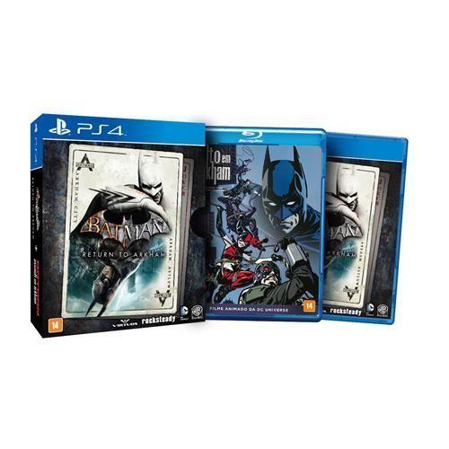 Jogo Batman Return to Arkham - Edição Limitada - PS4
