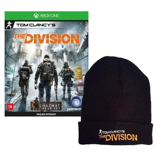 Jogo Tom Clancy's: The Division - Limited Edition Xbox One + Touca Exclusiva Tom Clancy's The Division
