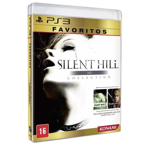 Jogo Silent Hill HD Collection - Favoritos - PS3
