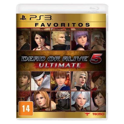 Jogo Dead or Alive 5 Ultimate - Favoritos - PS3