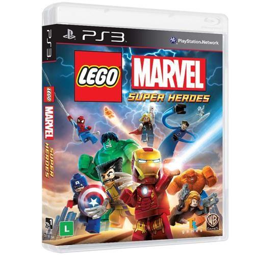 Jogo Lego Marvel - PS3