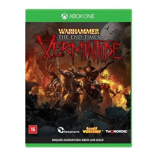 Jogo Warhammer: The Times End - Vermintide - Xbox One