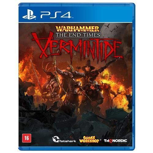 Jogo Warhammer: The Times End - Vermintide - PS4