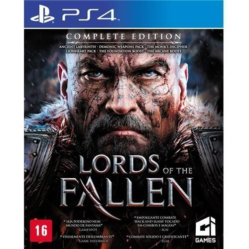 Jogo Lords of the Fallen: Complete Edition - PS4