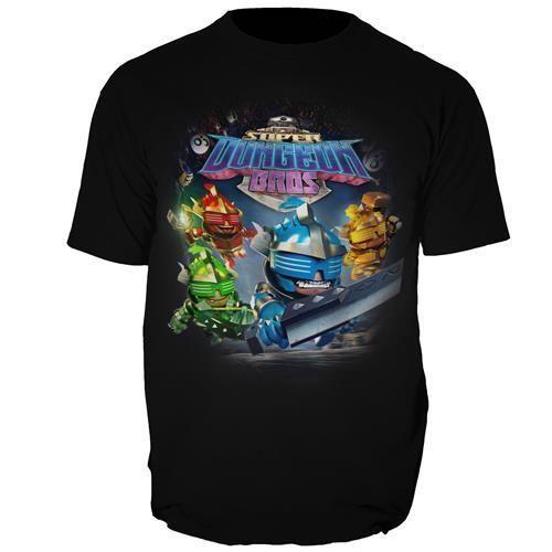 Jogo Super Dungeon Bros + Camiseta Exclusiva - PS4