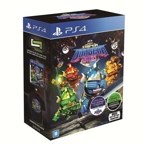 Jogo Super Dungeon Bros + Camiseta Exclusiva - PS4