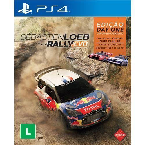 Jogo Sébastien Loeb Rally EVO - Edição Day One - PS4