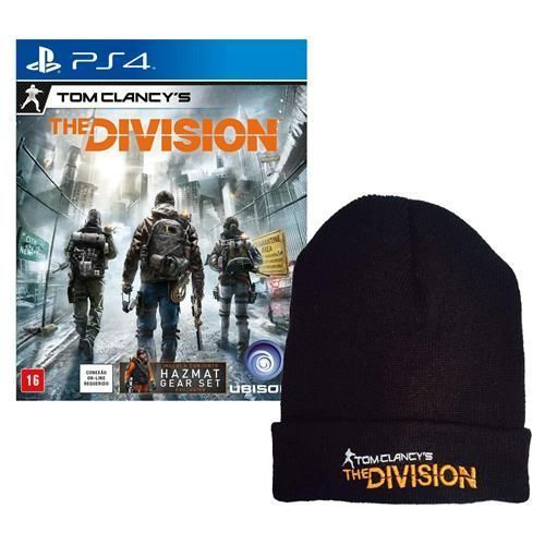 Jogo Tom Clancy's: The Division - Limited Edition PS4 + Touca Exclusiva Tom Clancy's The Division