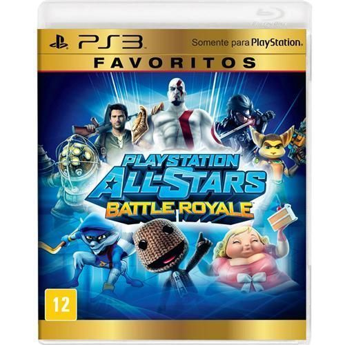 Jogo PlayStation All-Stars Battle Royale - Favoritos - PS3