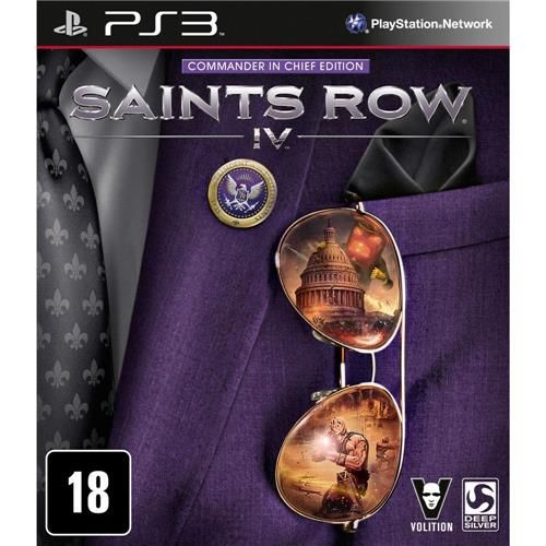 Jogo: Saints Row IV - PS3