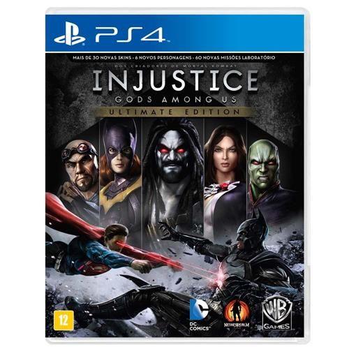 Jogo Injustice: Gods Among Us - PS4
