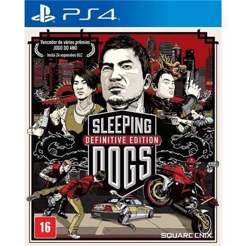Jogo Sleeping Dogs: Definitive Edition - PS4
