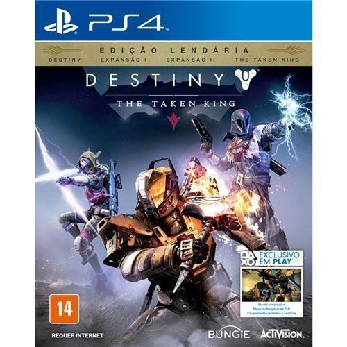 Jogo Destiny: The Taken King - Edição Lendária - PS4