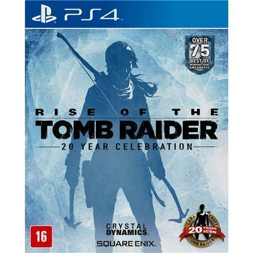 Jogo Rise of the Tomb Raider - PS4