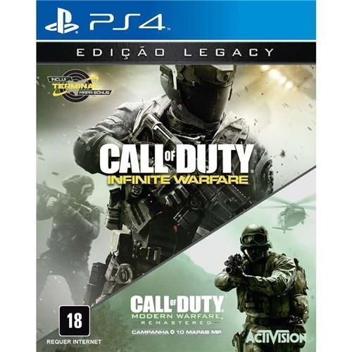 Jogo Call of Duty: Infinite Warfare - Legacy Edition - PS4