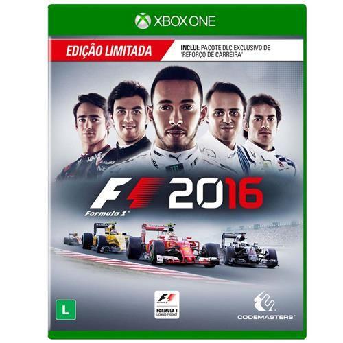 Pré-Venda Jogo F1 2016 - Edição Limitada - Xbox One