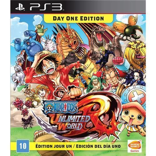 Jogo One Piece Unlimited World Red - PS3