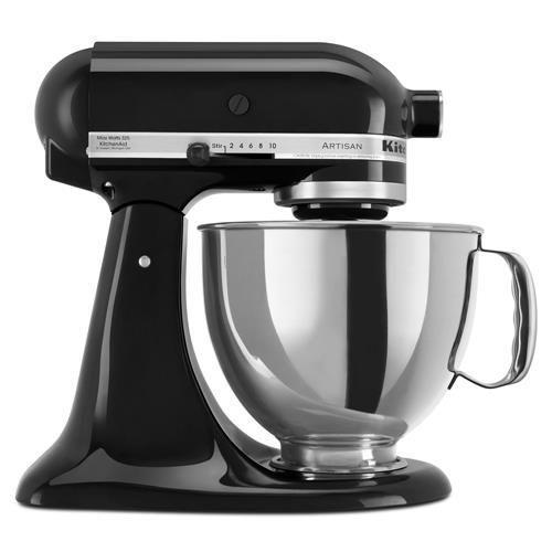 Batedeira KitchenAid Stand Mixer 110V– Preta