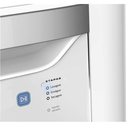 Lava-Louças Electrolux LE08B 8 Serviços com Painel Blue Touch - Branca