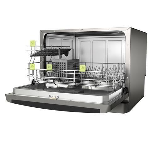 Lava-louças Consul CLC06AS Facilite Compacta 6 Serviços - Inox