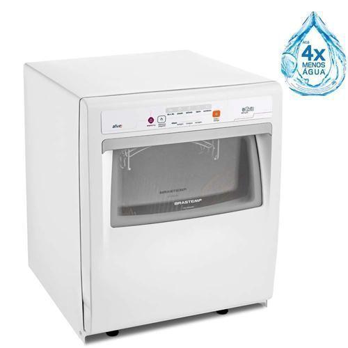 Lava-louças Brastemp BLF08 Ative! 8 Serviços - Branca