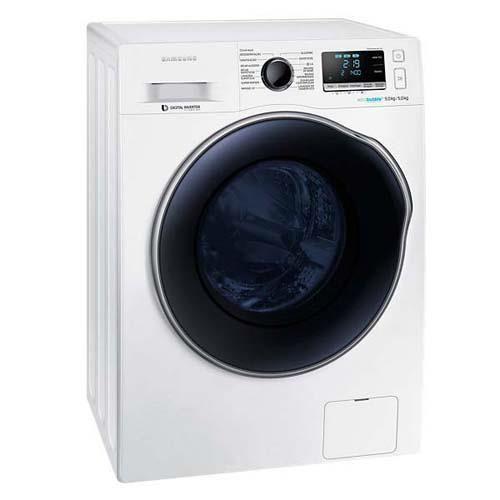Lavadora e Secadora de Roupas Samsung WD90J6410F WD6000 Branca com Eco Bubble e Programas de Lavagem - 9Kg