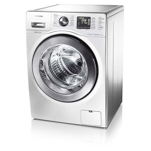 Lavadora/Secadora de Roupas Samsung Branca WD106UHSAWQ/AZ com Display Digital, Sistema AIR Wash e 5 Programas de Lavagem - 10,1Kg