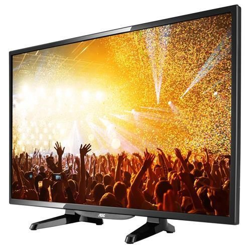 "TV LED 32"" HD AOC LE32H1461 com Conversor Digital Integrado, Entradas HDMI e Entrada USB"