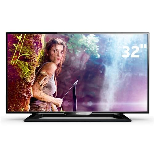 "TV LED 32"" HD Philips 32PHG4900/78 com Perfect Motion Rate 120Hz, Digital Crystal Clear, Entradas HDMI e Entrada USB"