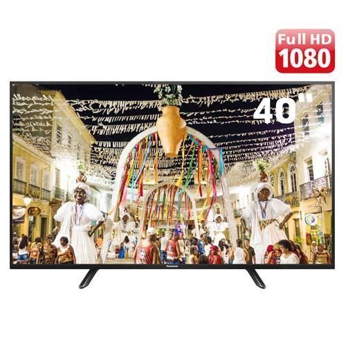"TV LED 40"" Full HD Panasonic TC-40D400B com Conversor Digital Integrado, Media Player, Entradas HDMI e Entrada USB"