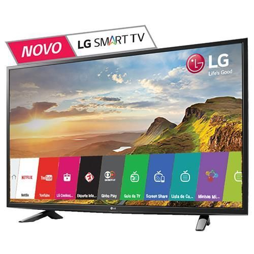 "Smart TV LED 43"" Full HD LG 43LH5700 com Painel IPS, Wi-Fi, Miracast, WiDi, Entradas HDMI e Entrada USB"