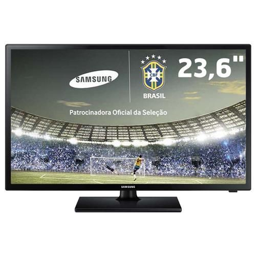 "TV Monitor LED 23,6"" HD Samsung LT24D310 com Função Futebol, ConnectShare Movie e Conversor Digital"