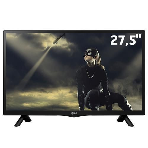 "TV Monitor LED 27,5"" HD LG 28LJ720B-PS com Conversor Digital Integrado, Time Machine Ready, Gaming Mode, Entrada HDMI e USB"