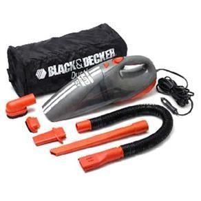 Aspirador Portátil p/ Carro Black&Decker 12V - AV1500-LA