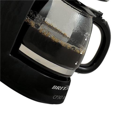Cafeteira Elétrica Britânia CP30 - Preto/Inox