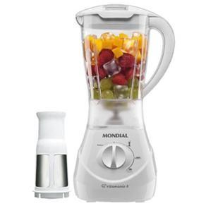 Liquidificador Mondial Vitamix 3 L-31 Branco c/ Filtro - 400 W