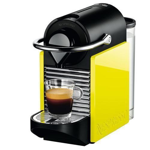 Cafeteira Nespresso Pixie C60 - Preta e Amarela